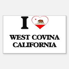 I love West Covina California Decal