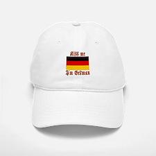 Kiss Me I'm German Baseball Baseball Cap