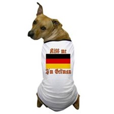 Kiss Me I'm German Dog T-Shirt