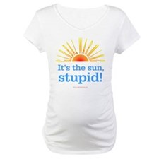 Global Warming Sun Maternity Tee