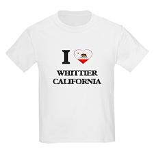 I love Whittier California T-Shirt