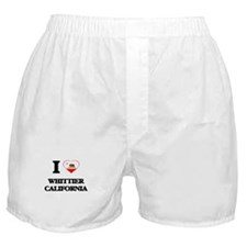 I love Whittier California Boxer Shorts