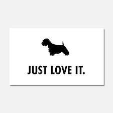 Sealyham Terrier Car Magnet 20 x 12