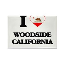 I love Woodside California Magnets