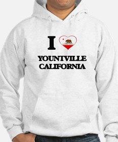 I love Yountville California Hoodie
