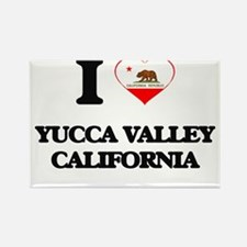 I love Yucca Valley California Magnets