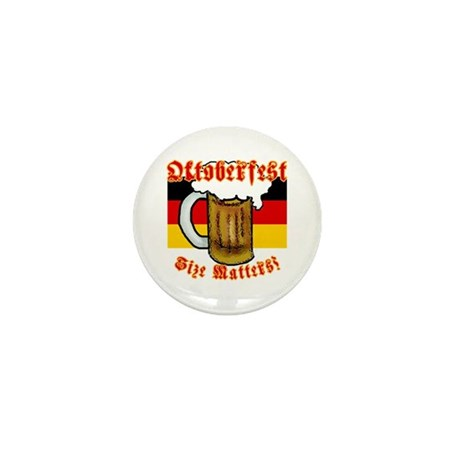 Oktoberfest Size Matters! Mini Button (10 pack)
