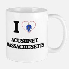 I love Acushnet Massachusetts Mugs