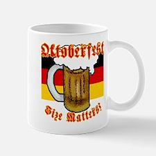Oktoberfest Size Matters! Mug