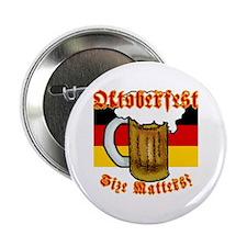 Oktoberfest Size Matters! Button