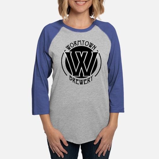 Wormtown_BW_Logo Long Sleeve T-Shirt