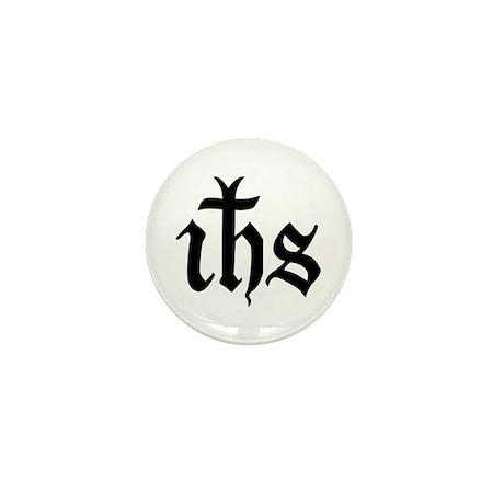 IHS Jesus Monogram Mini Button