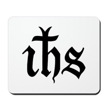 IHS Jesus Monogram Mousepad