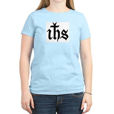IHS Jesus Monogram Women's Light T-Shirt