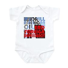 American Oil Infant Bodysuit