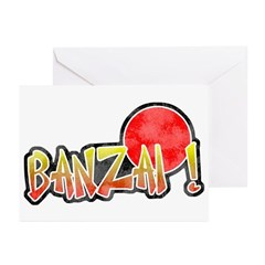 Vintage Banzai Greeting Cards (Pk of 10)