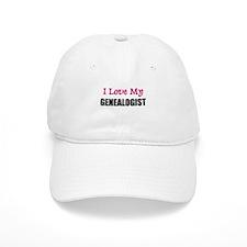 I Love My GENEALOGIST Baseball Cap