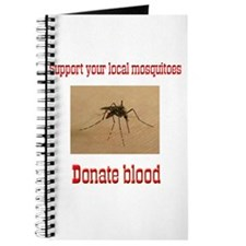 Donate Blood Mosquito Journal