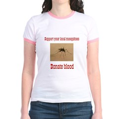 Donate Blood Mosquito T