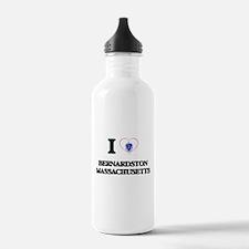 I love Bernardston Mas Water Bottle