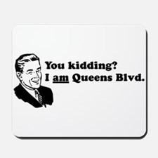 I Am Queens Blvd - Retro Mousepad