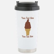 Personalized Chocolate Stainless Steel Travel Mug