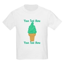 Personalized Mint Ice Cream T-Shirt