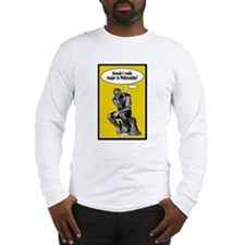 The Thinker Long Sleeve T-Shirt
