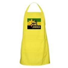 Rasta Gear Shop Jamaican Flag BBQ Apron