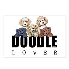 Doodle Lover Postcards (Package of 8)