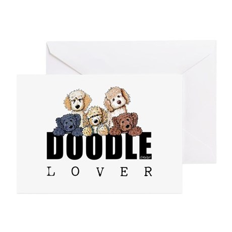 Doodle Lover Greeting Cards (Pk of 20)