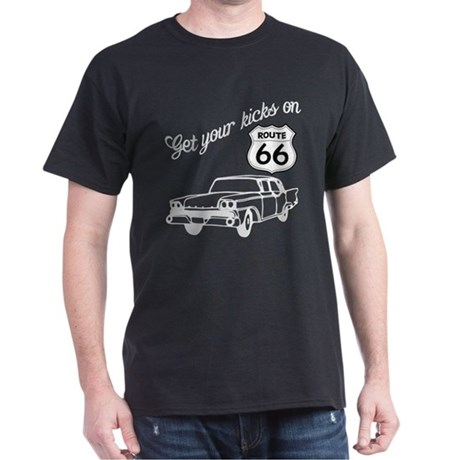 Get your kicks on Route 66 Dark T-Shirt