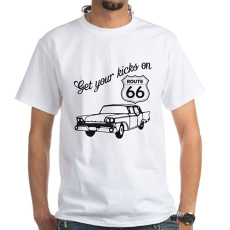 Get your kicks on Route 66 White T-Shirt