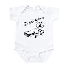 Get your kicks on Route 66 Infant Bodysuit