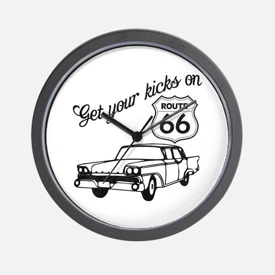 Get your kicks on Route 66 Wall Clock