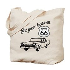 Get your kicks on Route 66 Tote Bag