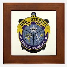 USS Sterett Framed Tile