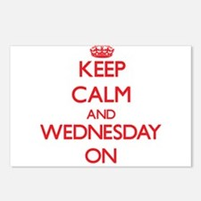 Keep Calm and Wednesday O Postcards (Package of 8)