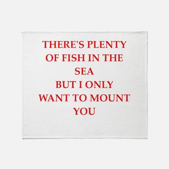 fish Throw Blanket