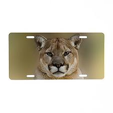Puma Aluminum License Plate