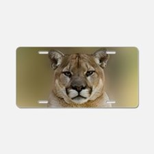Puma Aluminum License Plate