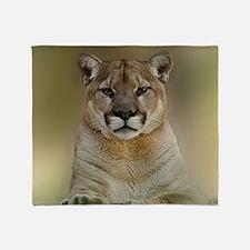 Puma Throw Blanket