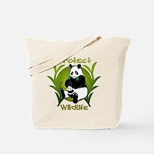 Protect Wildlife 2 Tote Bag