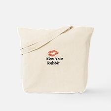 Kiss Your Rabbit Tote Bag