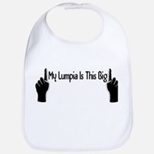 My Lumpia Is This Big Bib