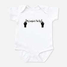 My Lumpia Is This Big Infant Bodysuit