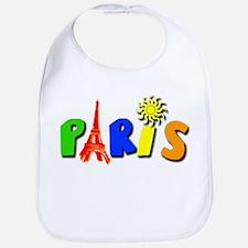 Colorful Paris / Eiffel Tower Bib