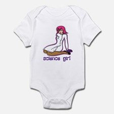 Science Girl Infant Bodysuit
