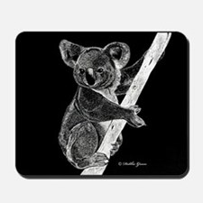 Midnight Koala Mousepad