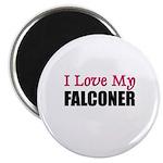 I Love My FALCONER Magnet